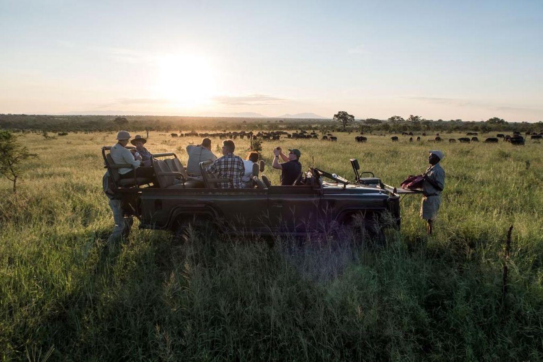 Pungwe Safari Camp game drive
