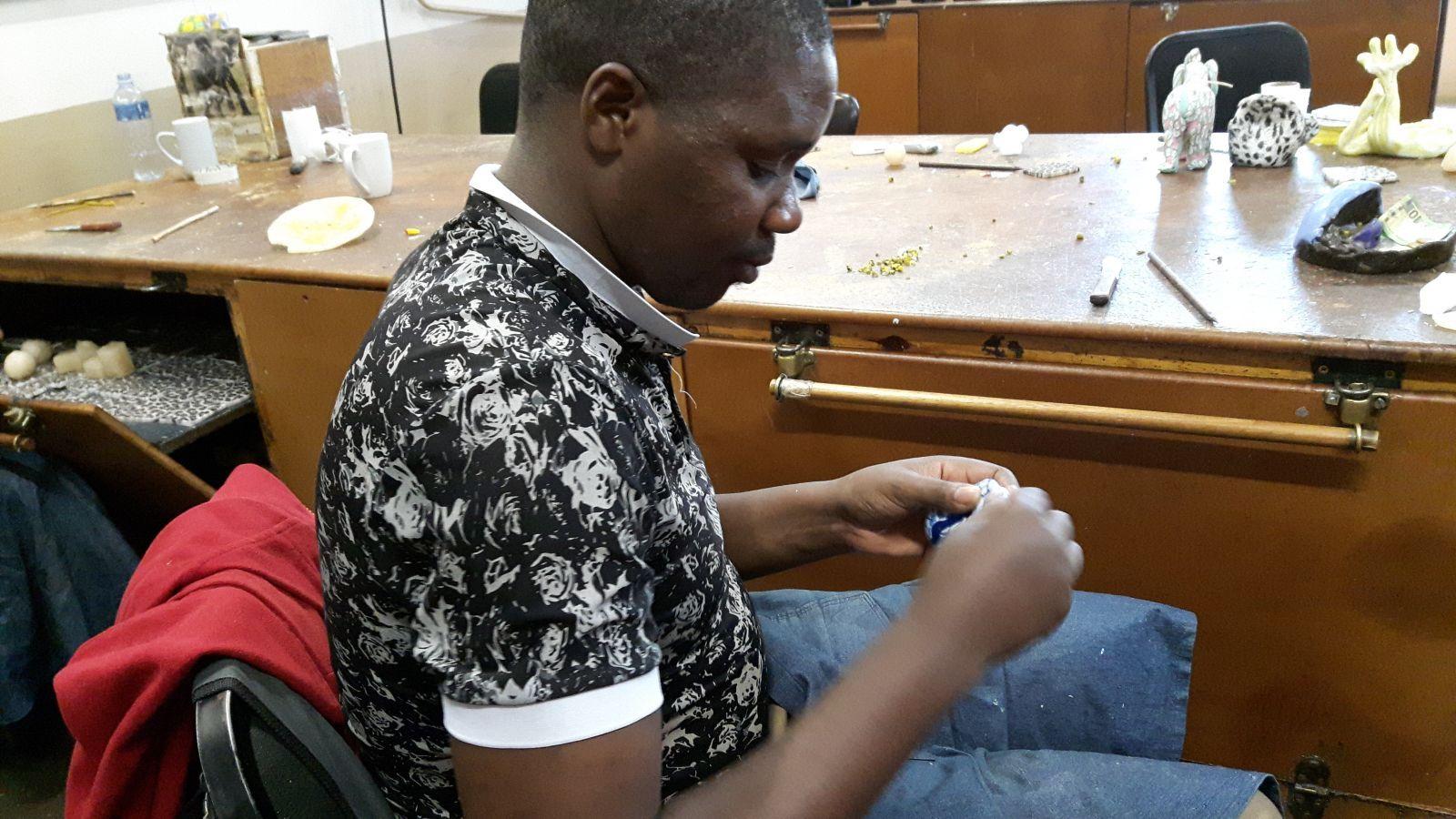 Swazi Candles worden met de handgemaakt