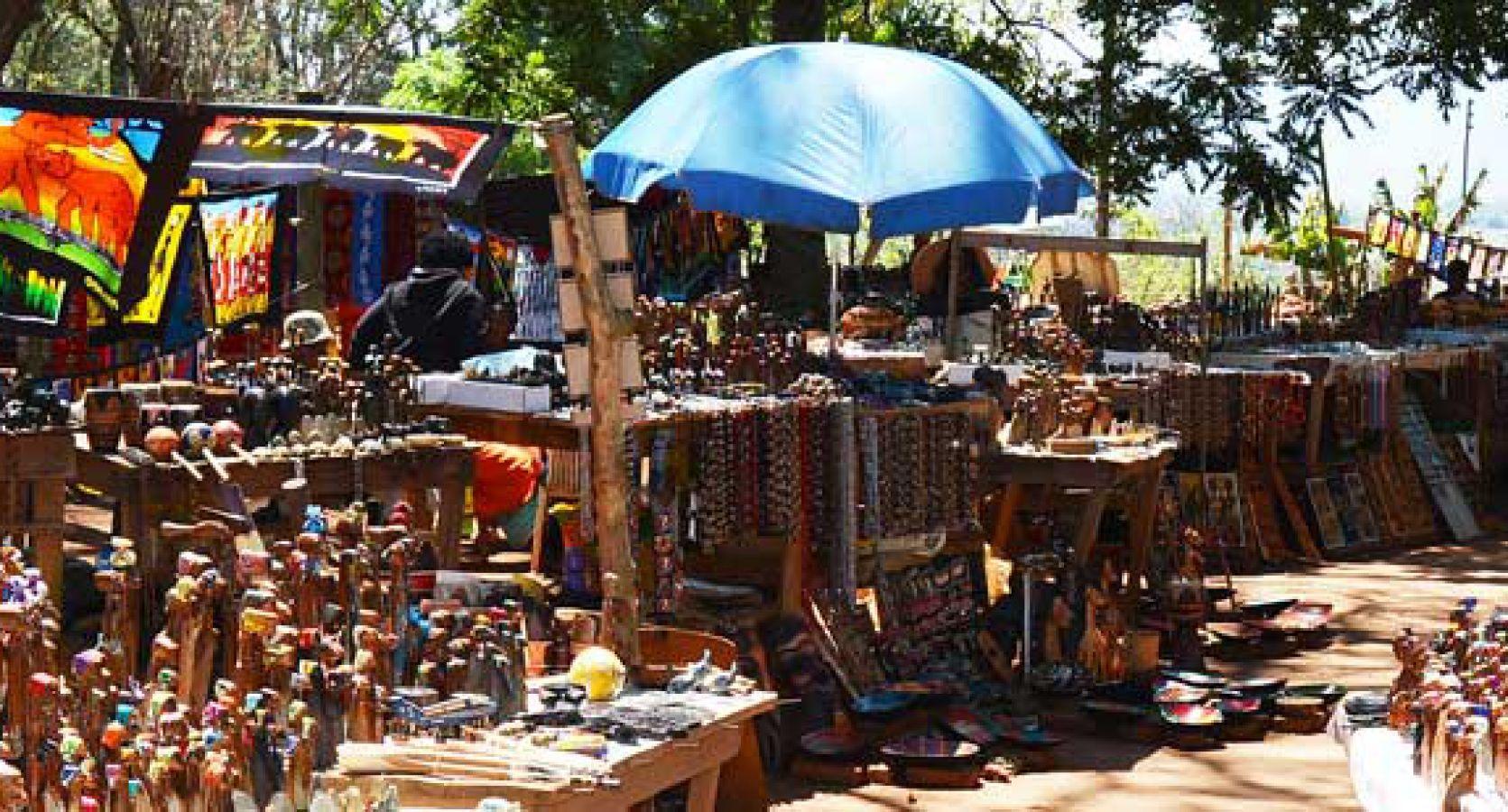 Craft markt bij Swazi Candles
