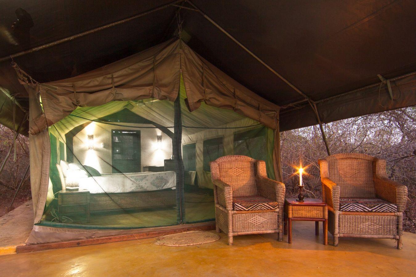 Thawale Lodge Safaritent exterieur
