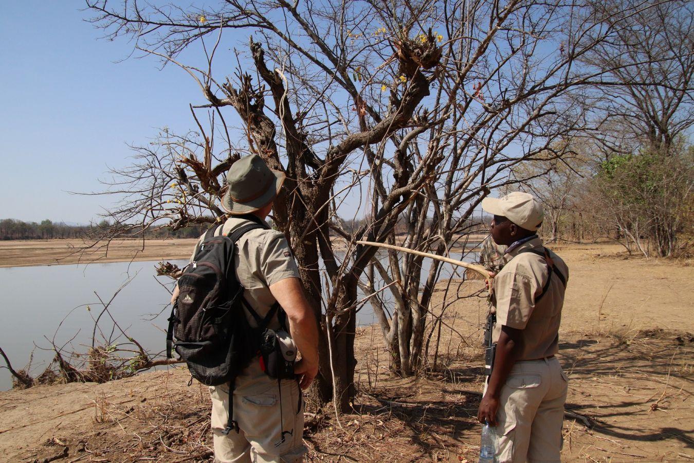 Three Rivers Camp - walking safari - ©Fair Mundo Travel