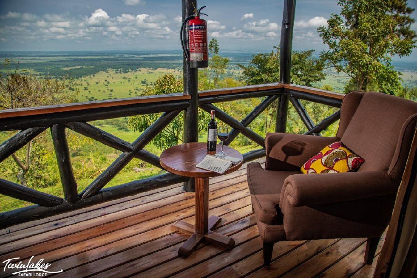Twin Lakes Safari Lodge uitzicht