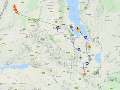 Rondreis Zambia Malawi