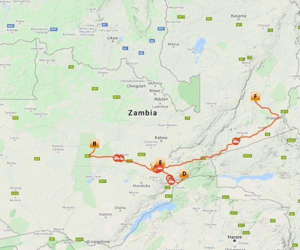 Reis Zambia door Mooiste National Parken