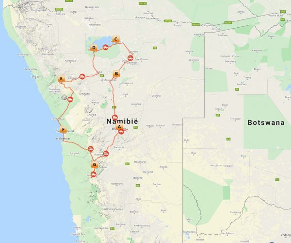 Groepsreis Namibie Highlights