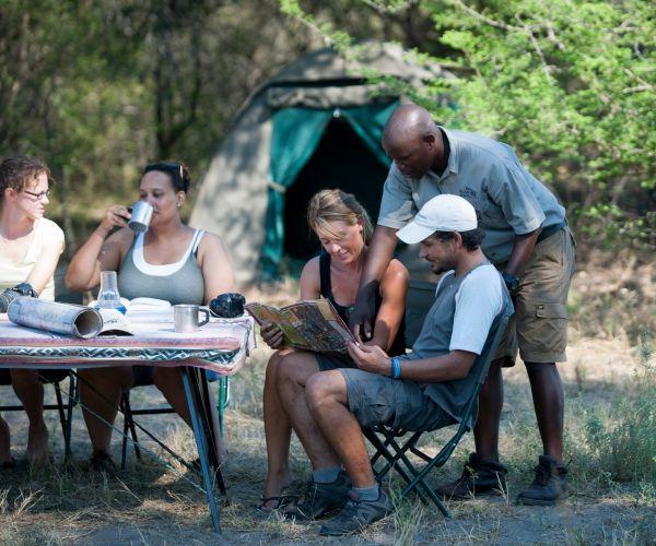 Groeps kampeersafari Botswana Optimaal