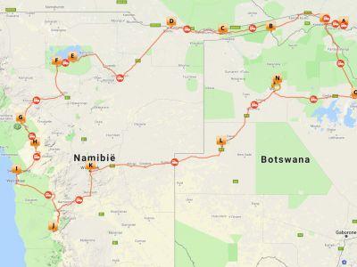 Kampeer groepsreis Namibië, Botswana & Victoria Falls