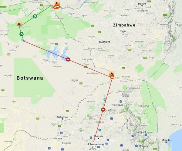 Luxe fly-in safari Botswana & Zimbabwe