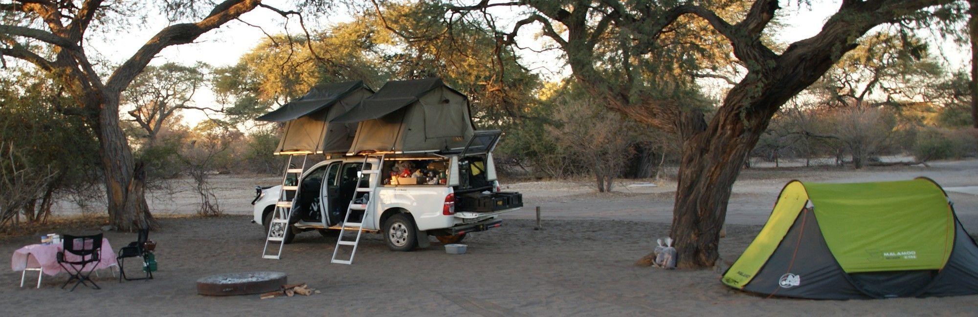 4x4 4WD Autohuur Namibië, Botswana, Zuid-Afrika