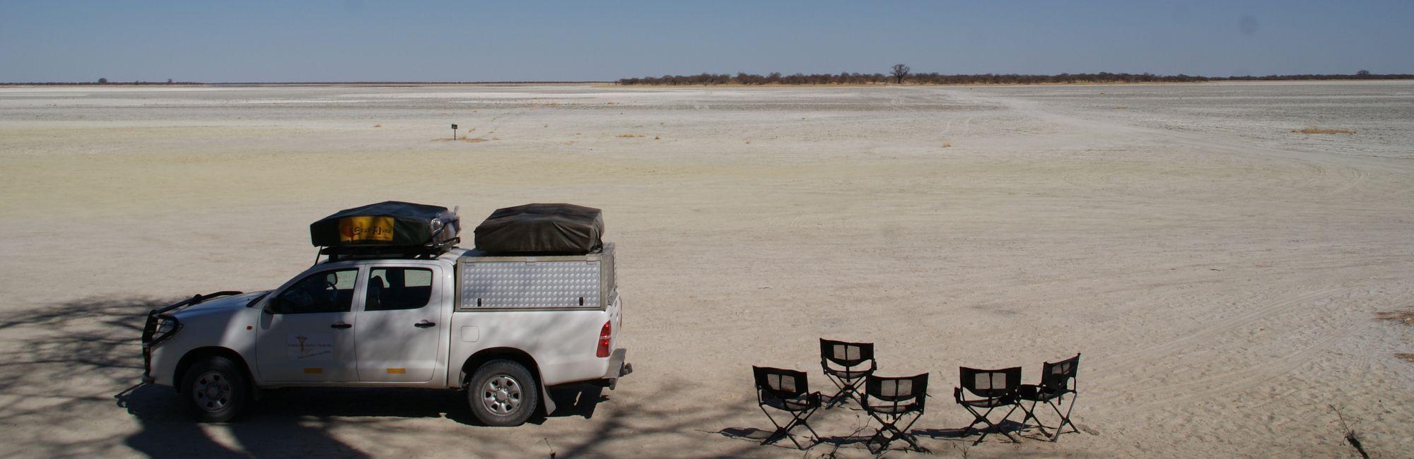 Botswana zoutpan