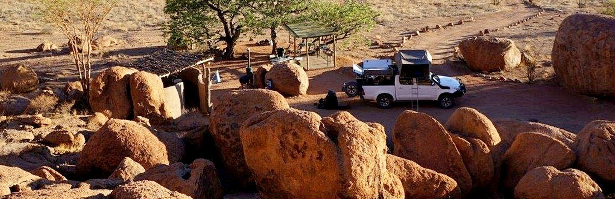 Rondreis Namibië in 4x4 met daktent