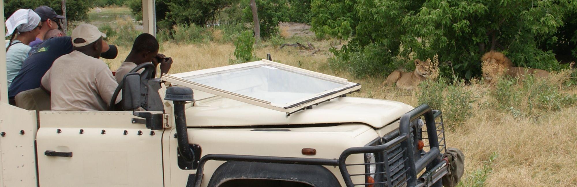 Kampeersafari Botswana Effectief