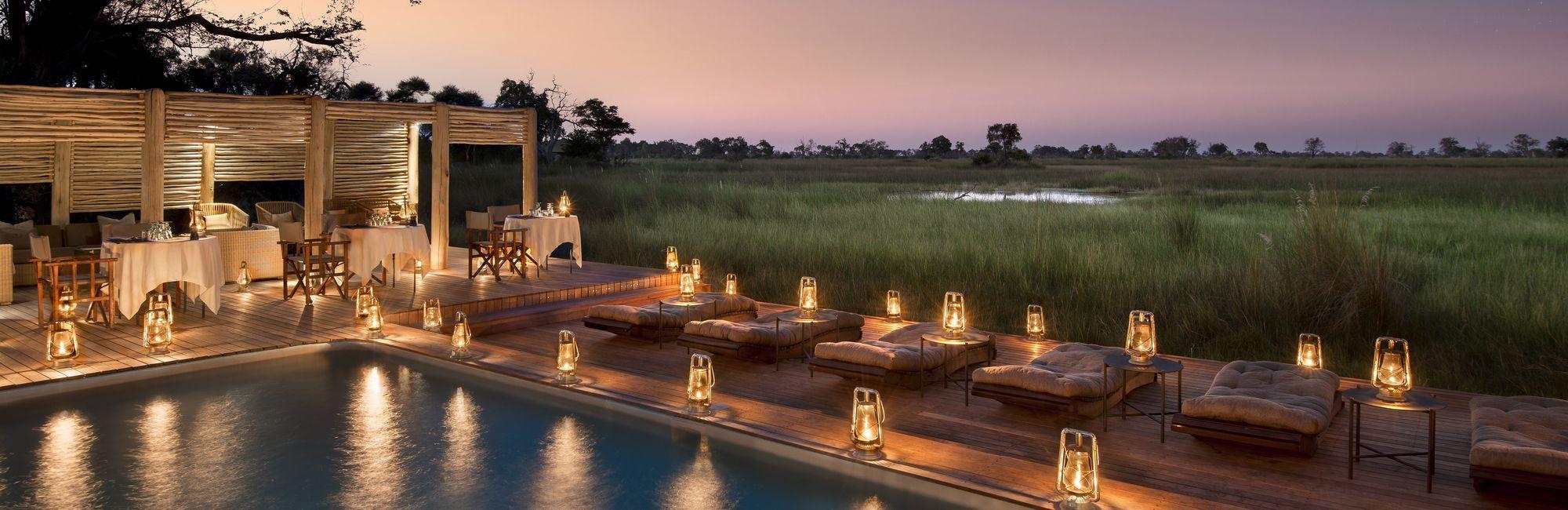Luxe reizen Botswana