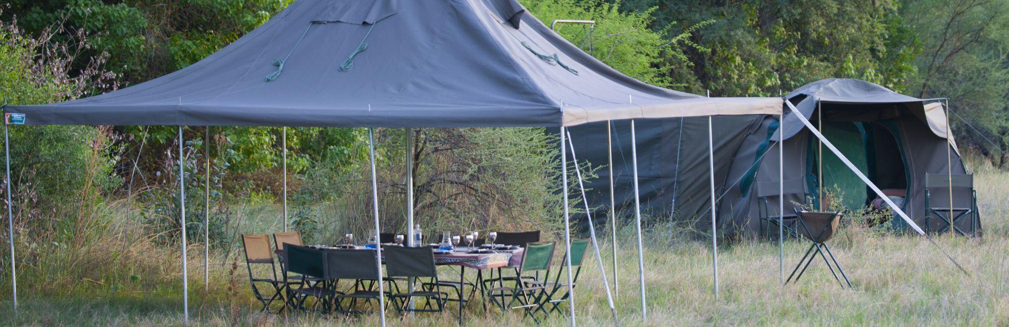 Luxe mobiele kampeersafari