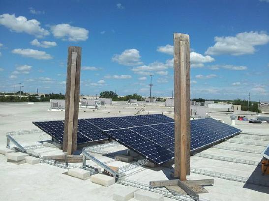 APS schaduw op zonnepaneel