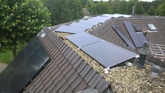 APSystems zonnepanelen op meer dakvlakken