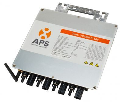 APS YC1000, 1200 stuks geinstalleerd in het grootste 3-fase micro inverter project ter wereld