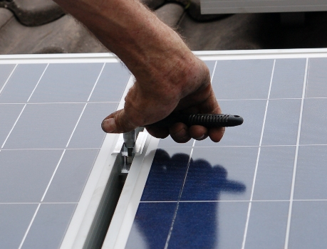 K2 systems montage zonnepanelen op schuin pannendak