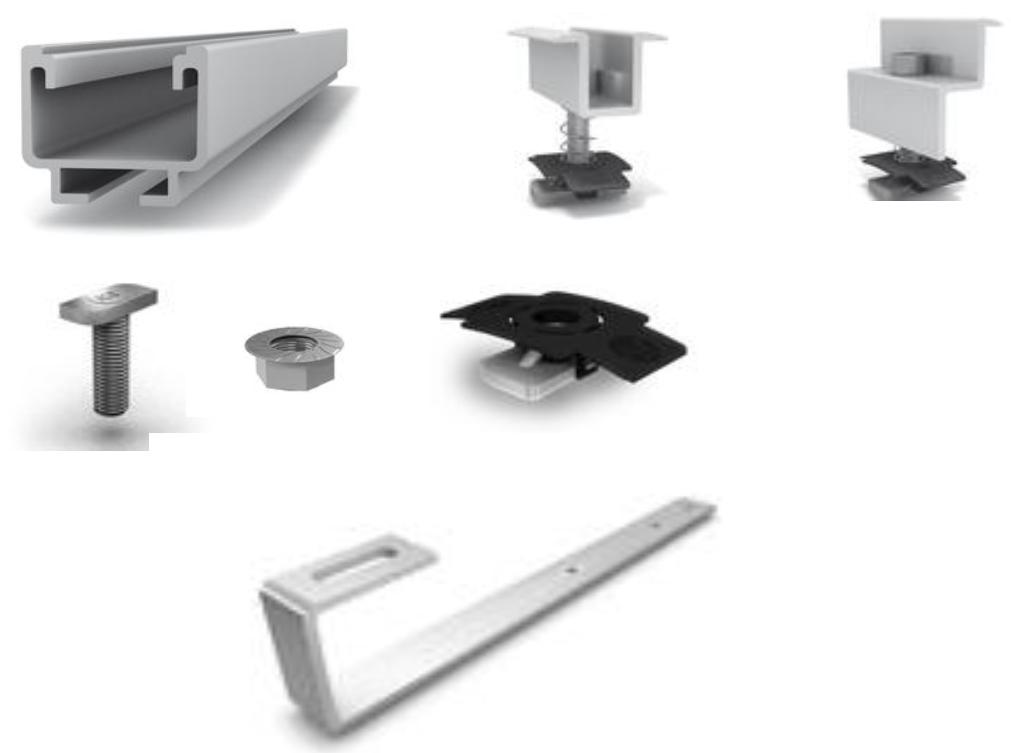K2 systems montage onderdelen