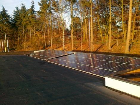 K2 systems zonnepanelen op frame focus-e
