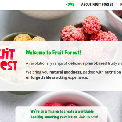 New Fruit Forest Website!