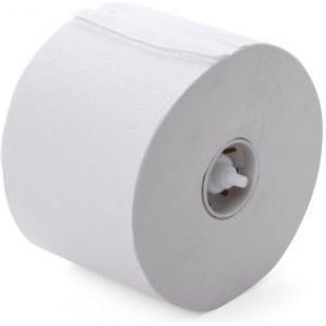 Toiletpapier met dop wit 2 laags tissue 98mm 100m/rol Neutraal