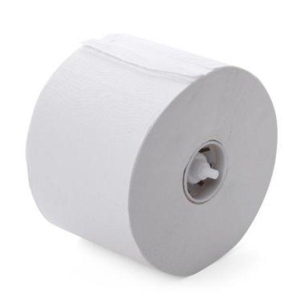 Toiletpapier met dop wit 2 laags tissue 98mm 100m/rol Neutraal