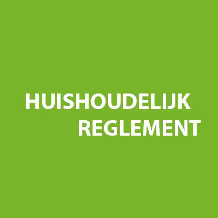V.H.O.S.Huishoudelijkregelement