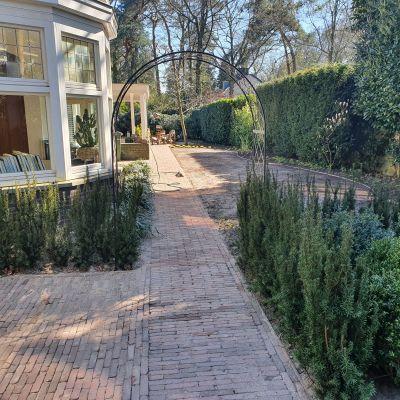 Aanleg Engelse tuin in Bilthoven