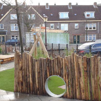 Aanleg tuin kinderdagverblijf Amsterdam-Noord