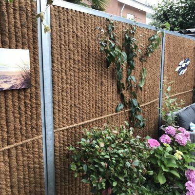 Geluidsabsorberende tuinschermen