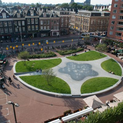 Groen Marie Heinekenplein Amsterdam