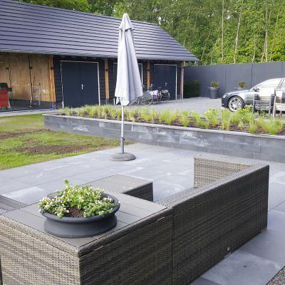 Nieuwbouw tuinaanleg in Harderwijk