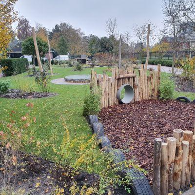 De mooiste kinderdagverblijf tuin van Leidsche Rijn