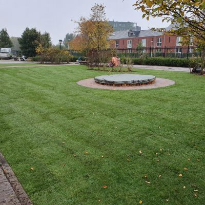 De mooiste kinderdagverblijf tuin van Leidsche Rijn in ontwikkeling