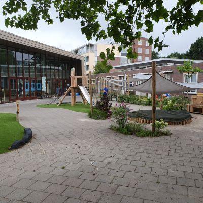 Aanleg tuin kinderdagverblijf Leiden
