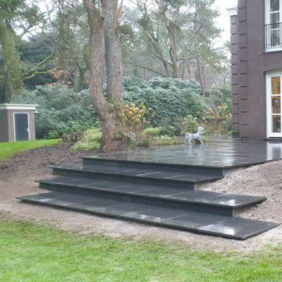 Tuinrenovatie in Bosch en Duin