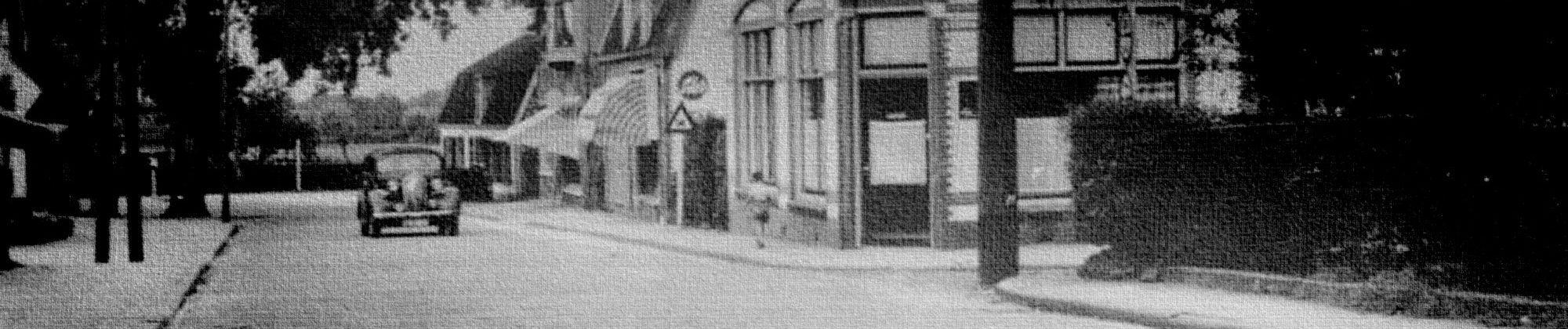 Firma A. Benning aan de F.C. Kuyperstraat.