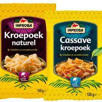 Gezinsverpakkingen Kroepoek en Cassave