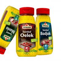 Nieuwe sambalverpakkingen