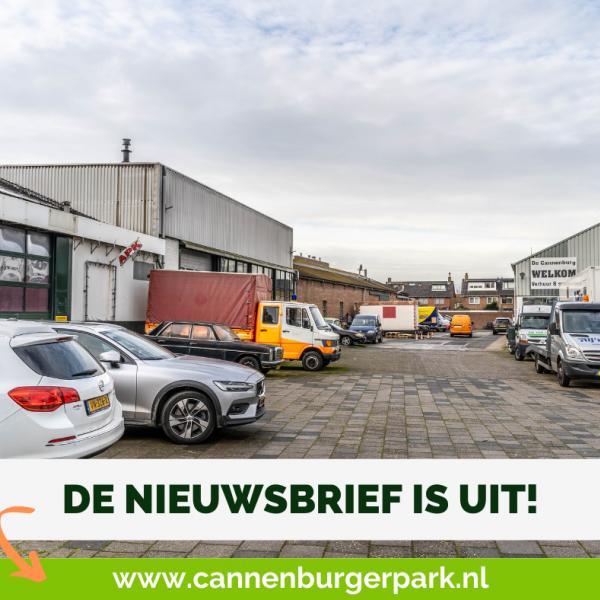 Nieuwsbrief Cannenburgerpark staat online!