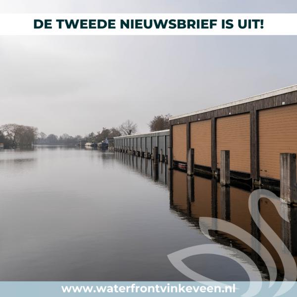 Tweede nieuwsbrief Waterfront Vinkeveen is uit!
