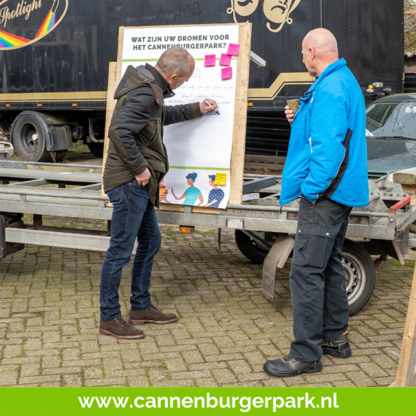 Grote belangstelling Cannenburgerpark