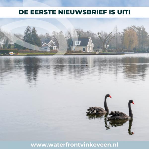 Nieuwsbrief Waterfront Vinkeveen: eerste bevindingen