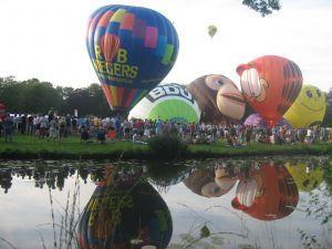 Ballonvaren boven Barneveld