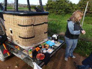 Culinaire ballonvaart