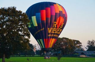 Hoe remt een luchtballon