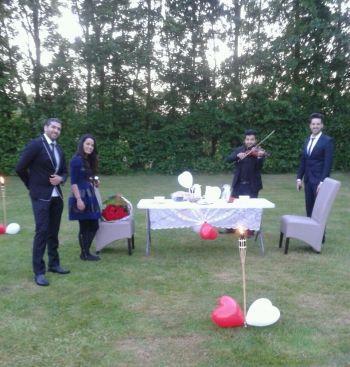 Huwelijksaanzoek Na ballonvaart