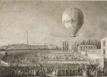 Eerste vrouwelijke ballonvaart