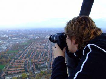 Fotograferen vanuit luchtballon